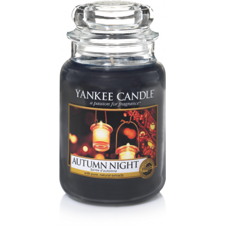 Yankee Candle Autumn Night Giara Grande
