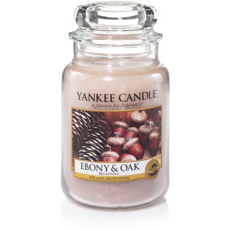 Yankee Candle Ebony & Oak Giara Grande