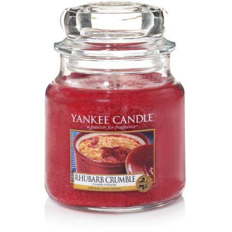 Yankee Candle Rhubarb Crumble Giara Media