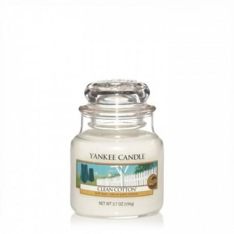 Yankee Candle Clean Cotton Giara Piccola