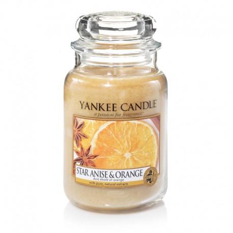 Yankee Candle Star Anise e Orange Giara Grande