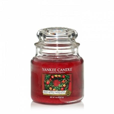 Yankee Candle Red Apple Wreath Giara Media