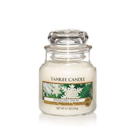 Yankee Candle Sparkling Snow Giara Piccola