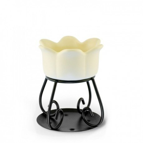 Yankee Candle Brucia Tart Petal Bowl Crema