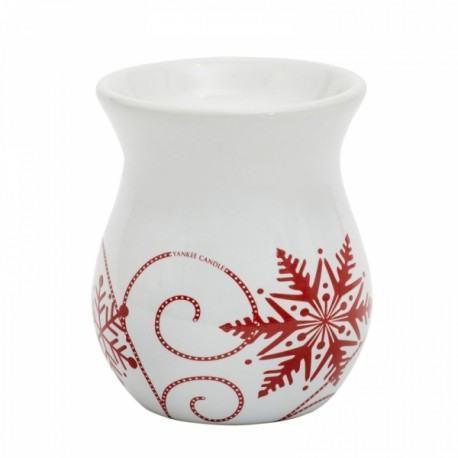 Yankee Candle Brucia Tart Snowflake Ceramic