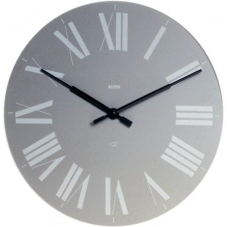Alessi Firenze orologio da parete grigio 12 G
