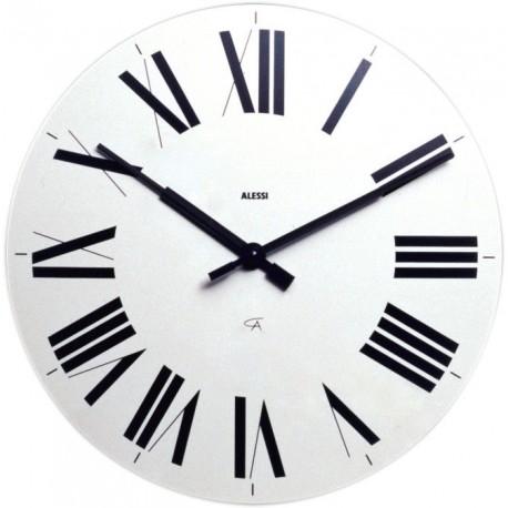 Alessi Firenze orologio da parete bianco 12 G