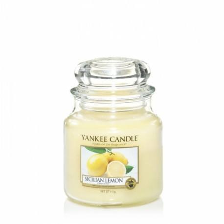 Yankee Candle Sicilian Lemon Giara Media