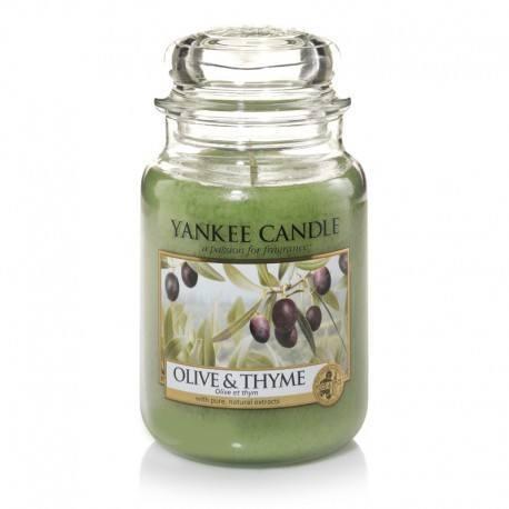 Yankee Candle Olive e Thyme Giara Grande