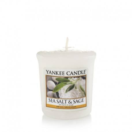 Yankee Candle Sea Salt e Sage Votivo