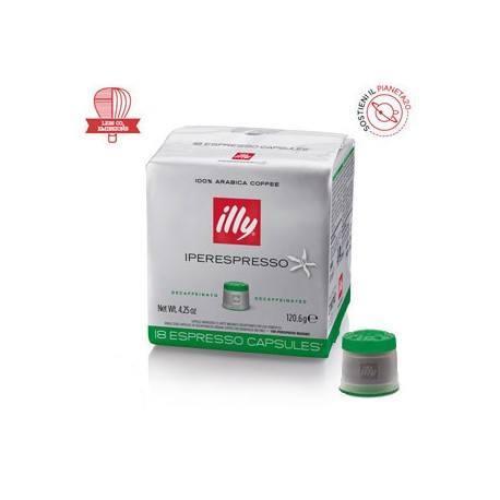 Illy Caffe' Iperespresso Verde 108 Capsule in 6 Confezioni