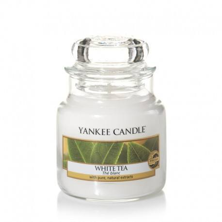 Yankee Candle White Tea Giara Piccola