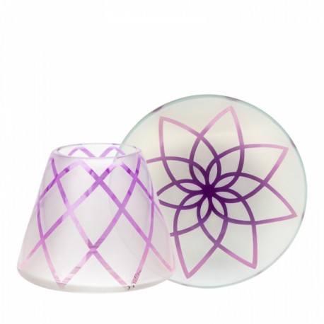 Yankee Candle Paralume Piccolo e Piattino Piccolo Lotus Flower