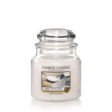 Yankee Candle Baby Powder Giara Media