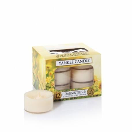 Yankee Candle Flowers in the Sun Tea Light Profumate