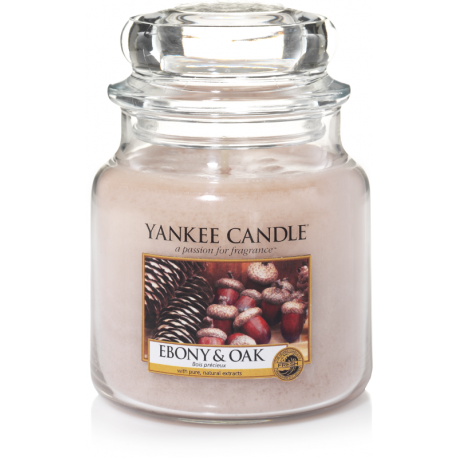 Yankee Candle Ebony & Oak Giara Media