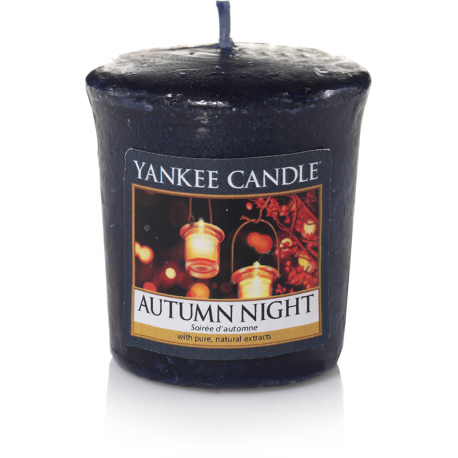 Yankee Candle Autumn Night Votivo