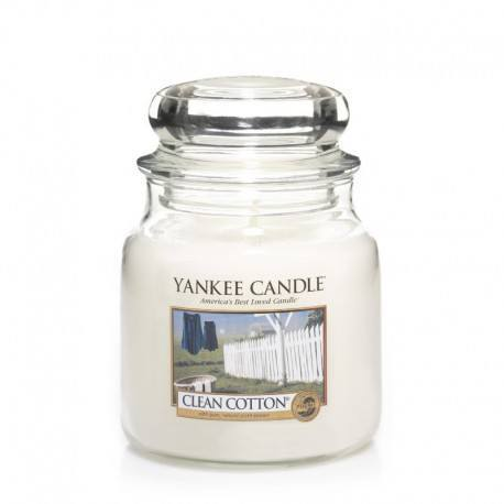 Yankee Candle Clean Cotton Giara Media