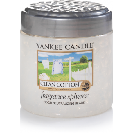 Yankee Candle Clean Cotton Sfere Profumate