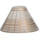 Yankee Candle Paralume Grande e Piattino Grande Copper Elegance