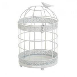 Yankee Candle Gabbia Porta Giara White Birds