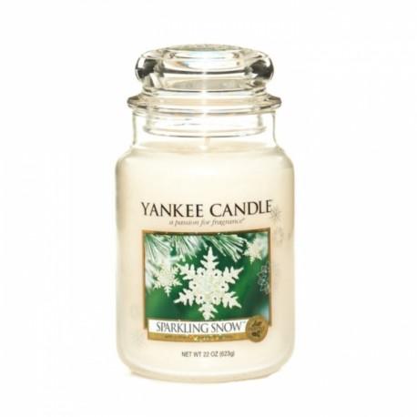 Yankee Candle Sparkling Snow Giara Grande