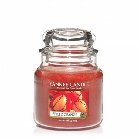 Yankee Candle Spiced Orange Giara Media