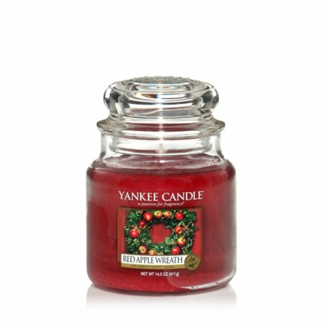 Yankee Candle Red Apple Wreath Giara Media