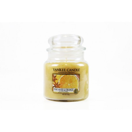Yankee Candle Star Anise e Orange Giara Piccola