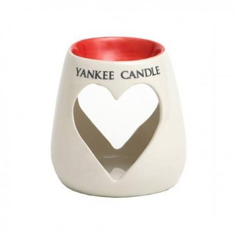 Yankee Candle Brucia Tart Painted Hearts Rosso