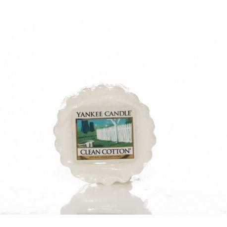Yankee Candle Clean Cotton Tart Profumate