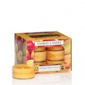 Yankee Candle Mango Peach Salsa Tea Light Profumate