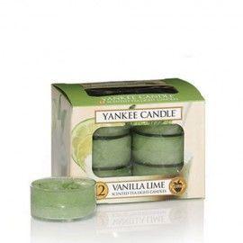Yankee Candle Vanilla Lime Tea Light Profumate