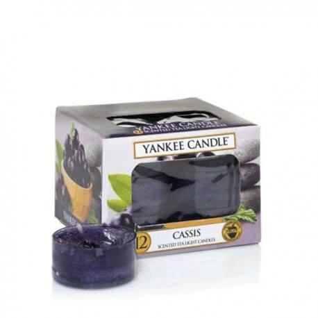 Yankee Candle Cassis Tea Light Profumate