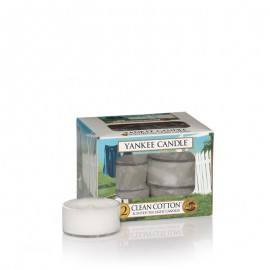 Yankee Candle Clean Cotton Tea Light Profumate