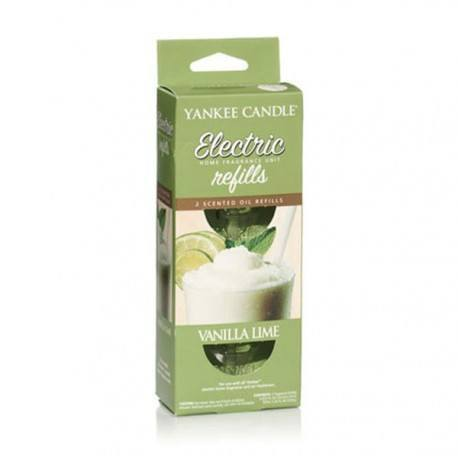 Yankee Candle Vanilla Lime Ricarica Diffusore Elettrico 2 pz