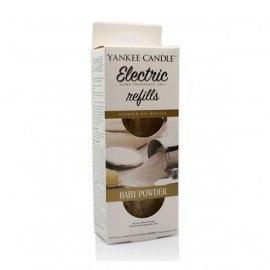 Yankee Candle Baby Powder Ricarica Diffusore Elettrico 2 pz