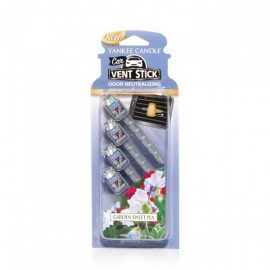 Yankee Candle Garden Sweet Pea Car Stick 4 pz