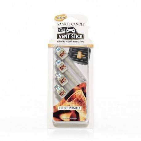 Yankee Candle French Vanilla Car Stick 4 pz