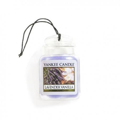 Yankee Candle Lavender Vanilla Car Jar Ultimate