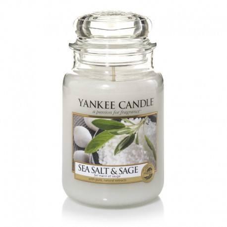 Yankee Candle Sea Salt e Sage Giara Grande