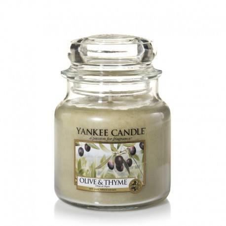 Yankee Candle Olive e Thyme Giara Media