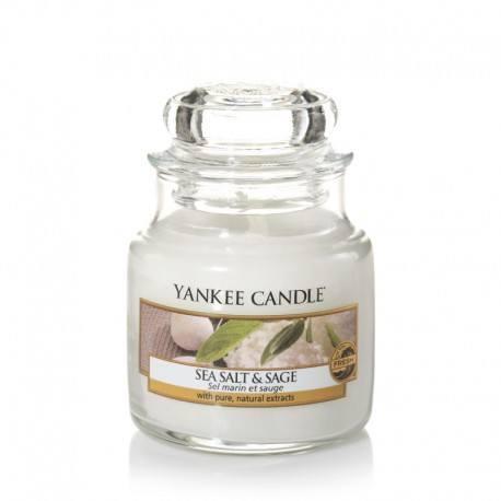 Yankee Candle Sea Salt e Sage Giara Piccola