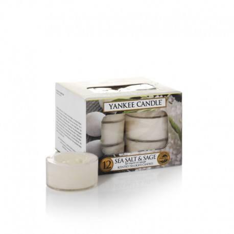 Yankee Candle Sea Salt e Sage Tea Light Profumate