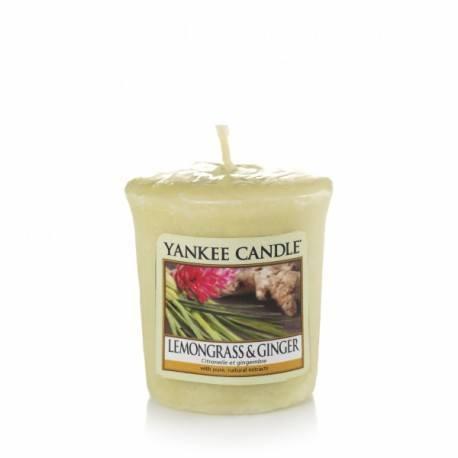 Yankee Candle Lemongrass e Ginger Votivo
